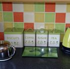 small electric tea kettle in my kitchen
